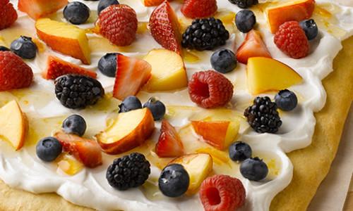 Fresh Fruit & Cream Cheese Bars