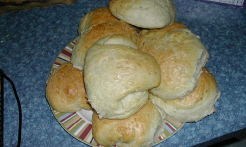 Giant Weck Rolls for Beef Sandwiches