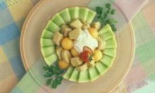 Gingered Pork and Melon Salad