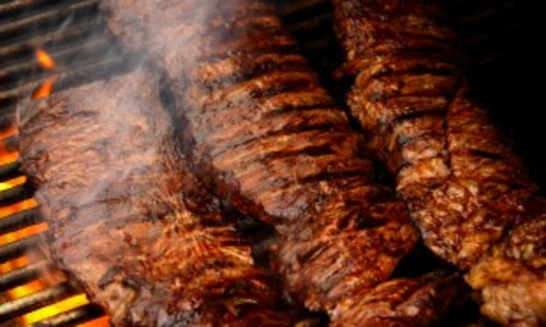 Grilled Marinated Skirt Steak
