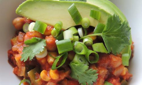 Healthy Vegetarian Chili