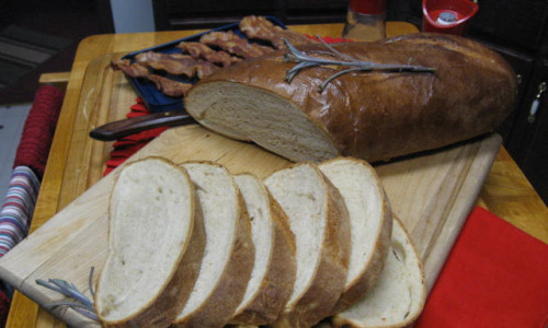 italian bread recipe no bread machine