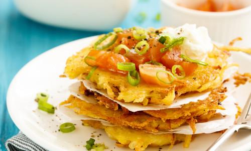 Kartoffel Latkes (Potato Pancakes)