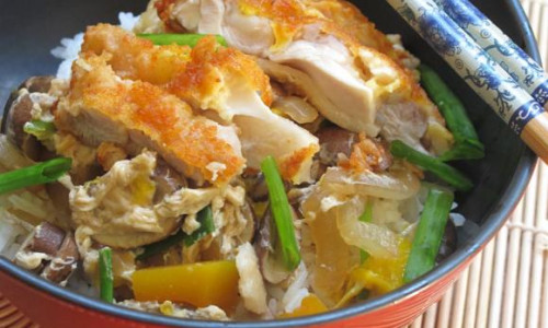 Katsu Donburi (Pork-Topped Rice)