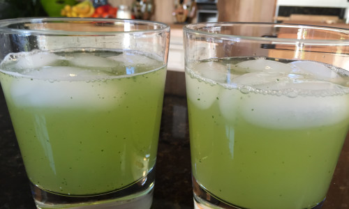 Lemon and Mint Juice