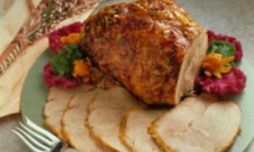 Orange Glazed Leg of Pork