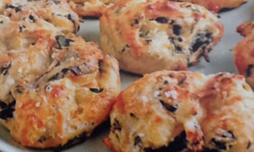 Parmigiano Reggiano-Spinach Puffs