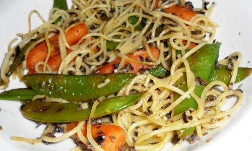 Peanut Asian Noodles