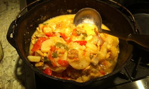 Portuguese Cod Stew