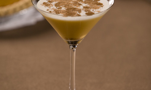 Pumpkin Smash Martini