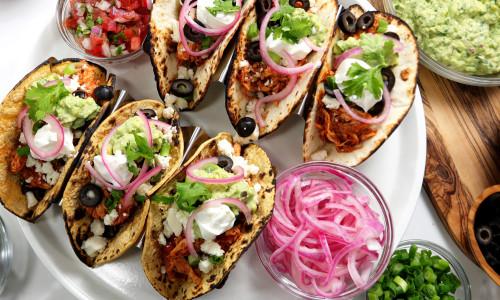 Quick Weeknight Rotisserie Tacos
