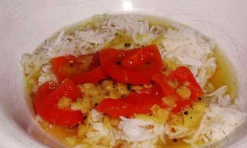 Sambar - Lentils with Vegetables