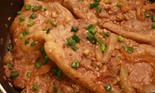 Skillet Pork Steaks