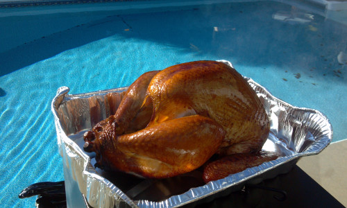 Smoked Apple Brine Whole Turkey