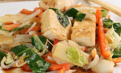 Spicy Tofu Stir Fry