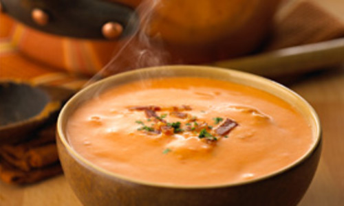 Sundried Tomato and Basil Bisque