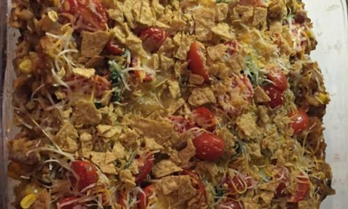 Vegitarian Taco Casserole