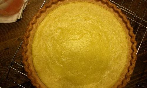 Yellow Squash Pie