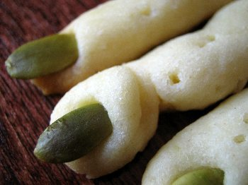 Zombie Finger Snacks