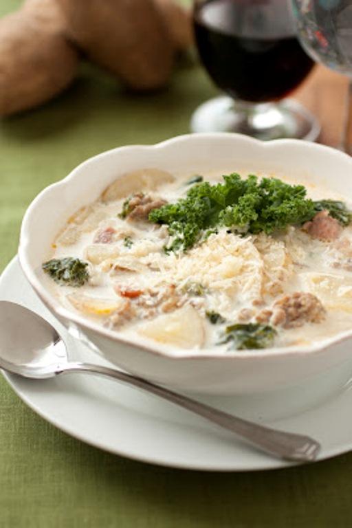 Zuppa Toscana Soup Olive Garden Copycat Recipe Bigoven